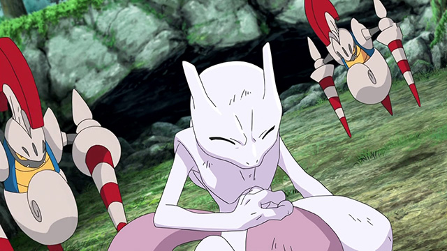 Mewtwo is surrounded